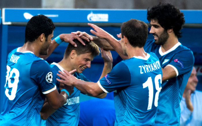 Zenit name and number kit 2013/14