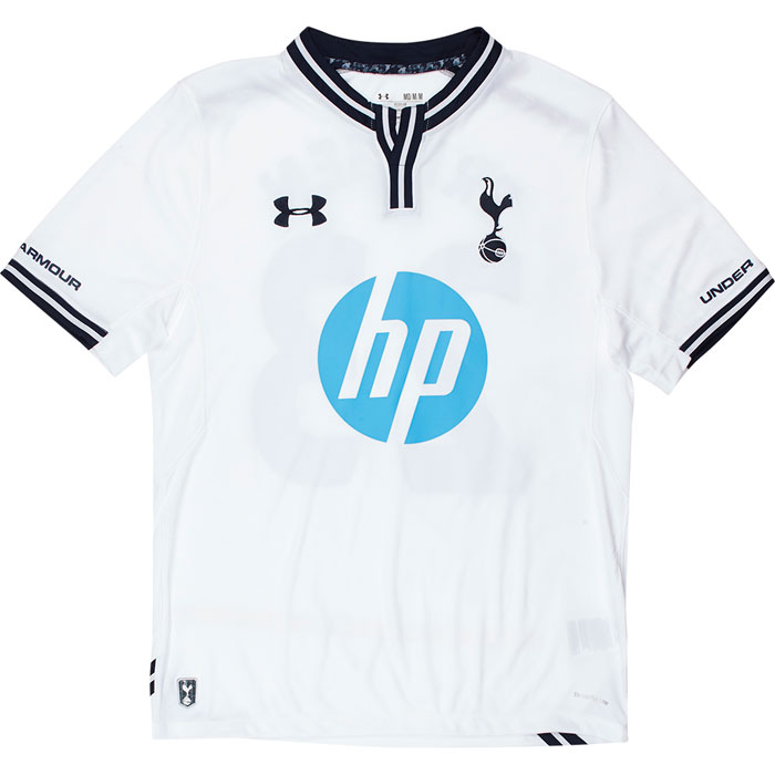 Tottenham home jersey full view