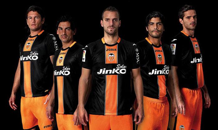 New Valencia away jersey 2012