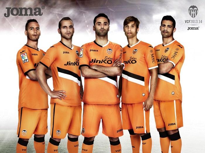 Valencia away kit 2013/14