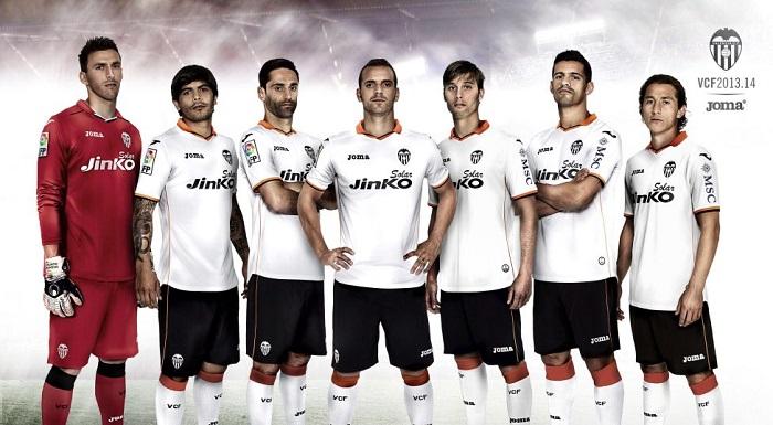 Valencia home kit 2013/14