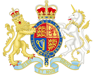 UK government coat of arms
