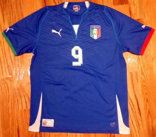 Italy home jersey Confed Cup 2013 - 9