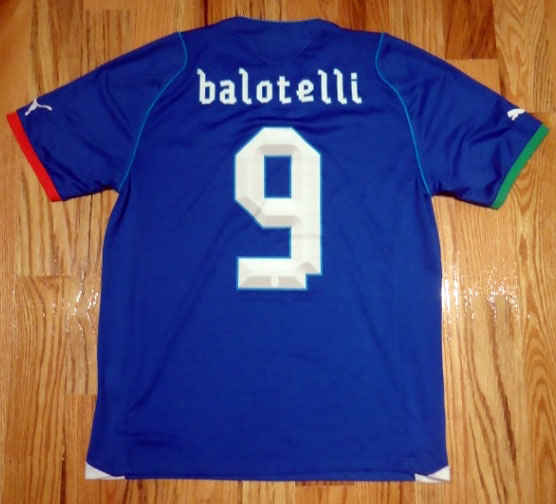 Italy home jersey 2013 printing
