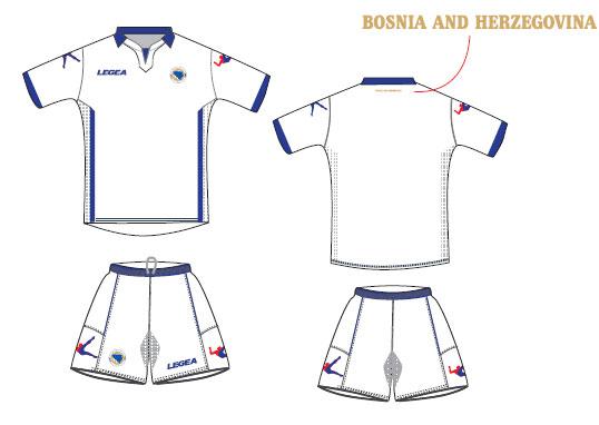 Bosnia away kit 2014