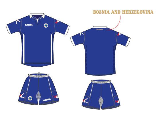 Bosnia home kit 2014