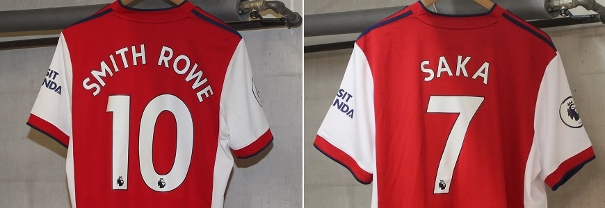 Arsenal 21/22 trøjer