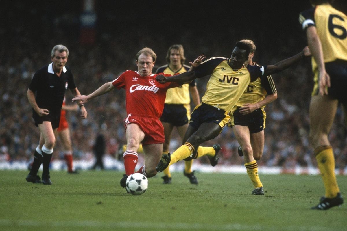 Arsenal at Anfield Road 1989