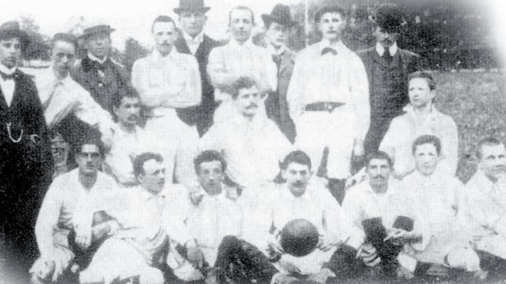 FC Bayern hold billede år 1900
