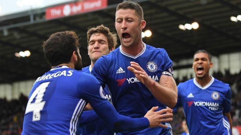 Chelsea hjemme trøje sæsonen 2016/17