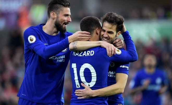 Chelsea hjemme trøje sæson 17/18