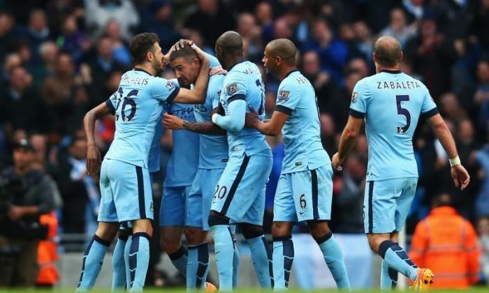 Man City sæson 2014/15
