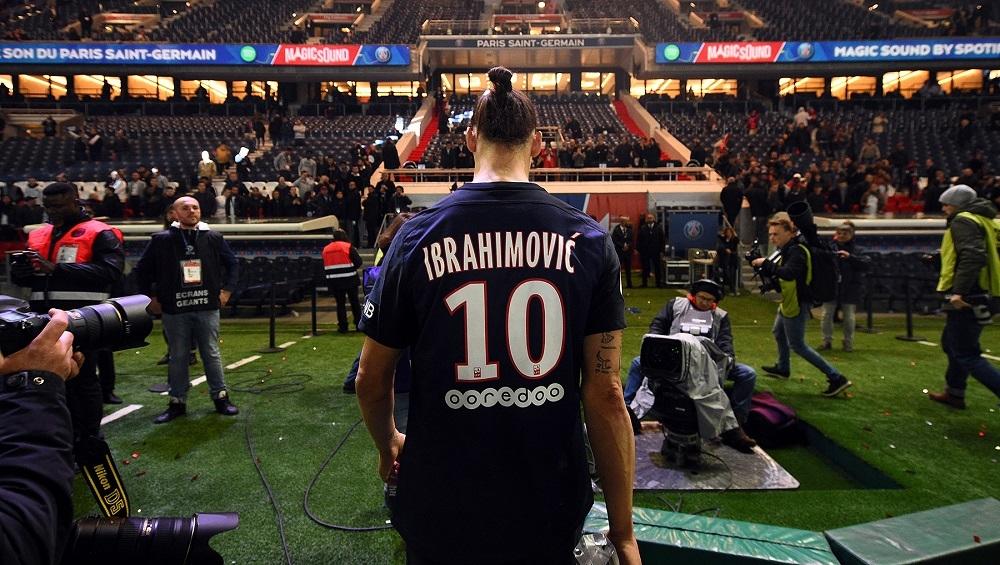 Zlatan sidste kamp PSG