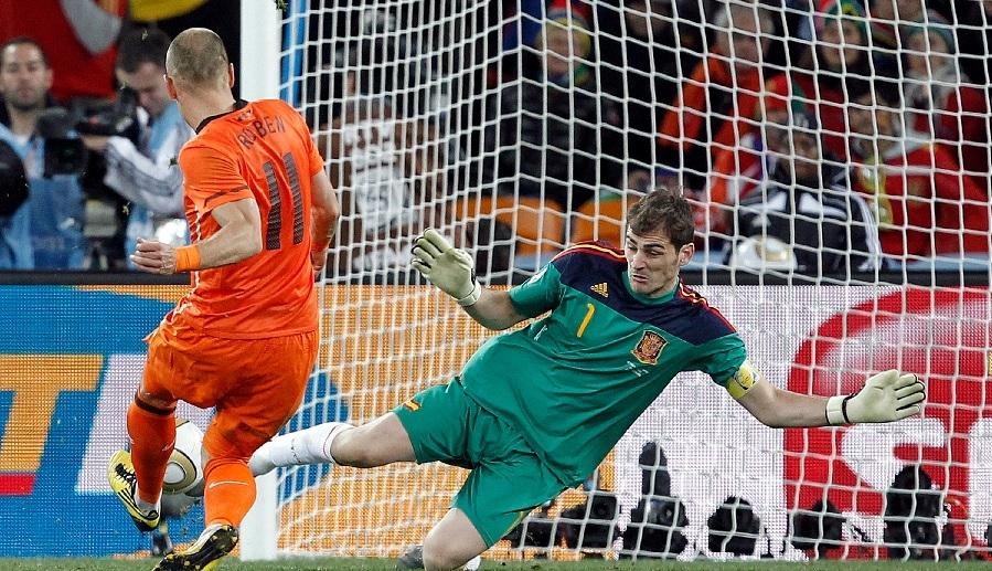 Spain World Cup 2010 final Iker Casillas