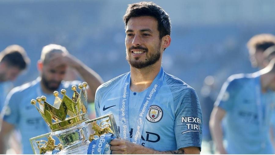 David Silva - Man City champ