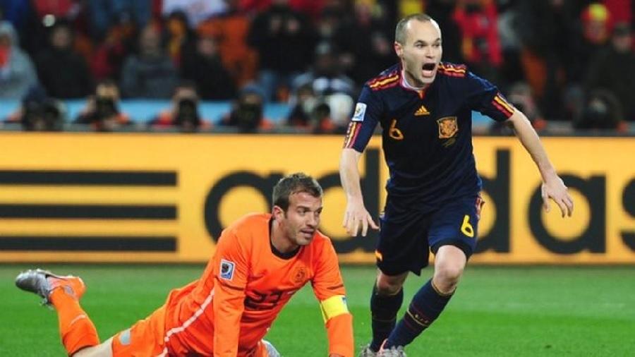Andres Iniesta for Spain