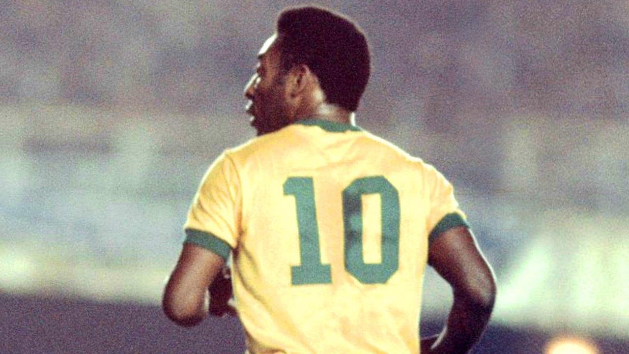 Pele 10 for Brasil