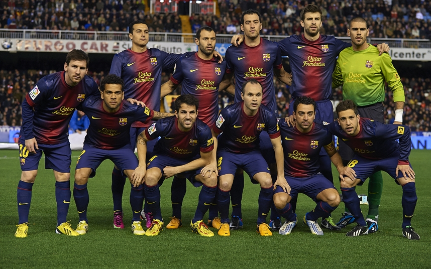 Barcelona 12/13 kits