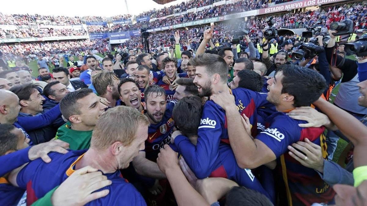 Barcelona sæsonen 15/16