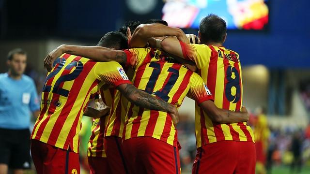 FC Barcelona 13/14 away kit Seynara