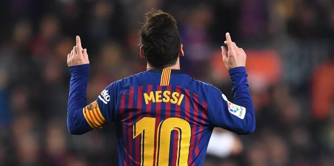 Messi 10 FC Barcelona 18/19