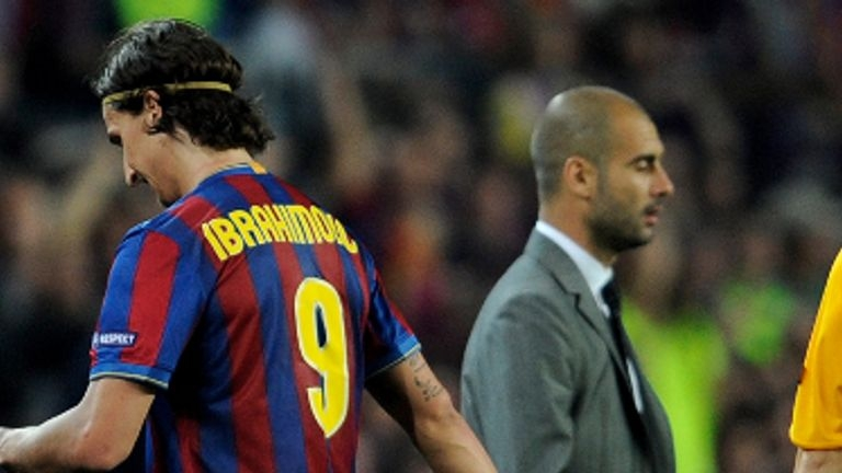 Zlatan Ibrahimovic i FC Barcelona