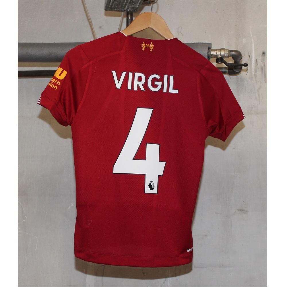 Liverpool hjemme trøje - spiller navn