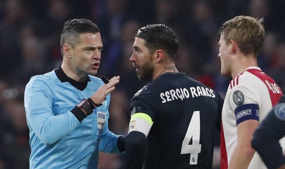 Sergio Ramos versus Ajax 2019
