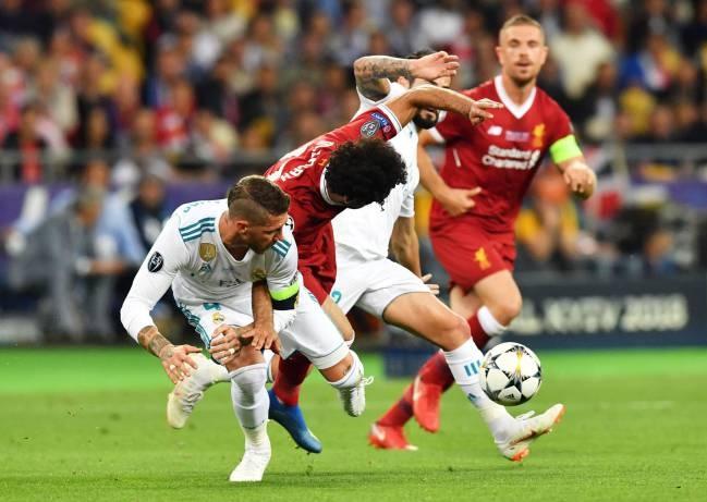 Real Madrid 17/18 Sergio Ramos