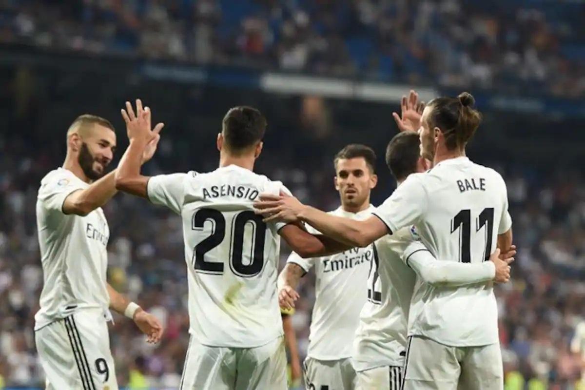Real Madrid 18/19 La Liga tryk