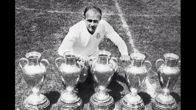 Real Madrid 1950s Cup wins