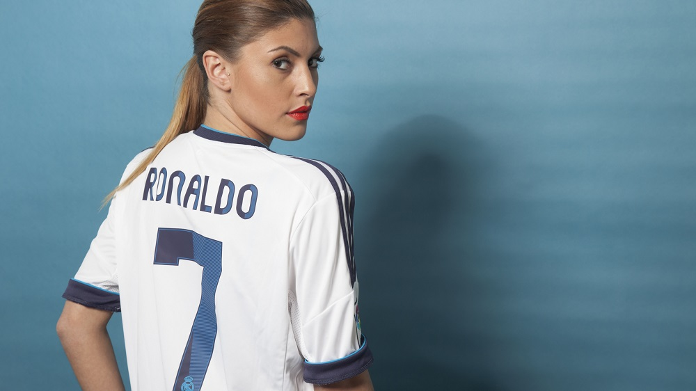Real Madrid jersey printing by Sporting ID