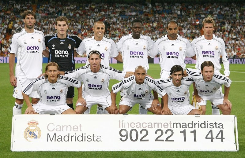 Real Madrid 06/07 season