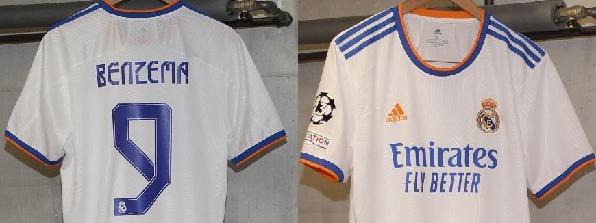 Real Madrid 21/22 trøjer