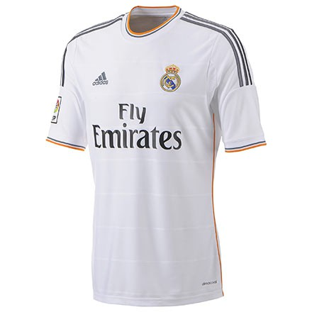Real Madrid home jersey 2014