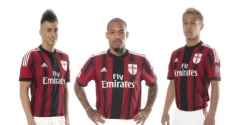 New Ac Milan Home Kit 14 15 Archives Mm Sports Blog