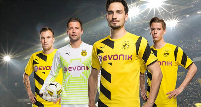 Dortmund jersey 2014/15