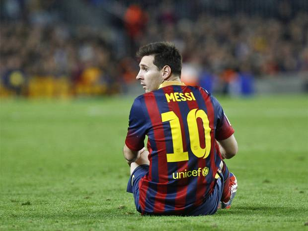 Barca home Messi 10