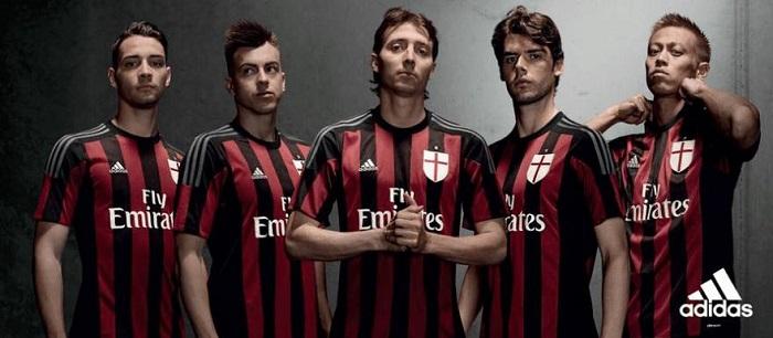 Milan soccer jersey 2015/16