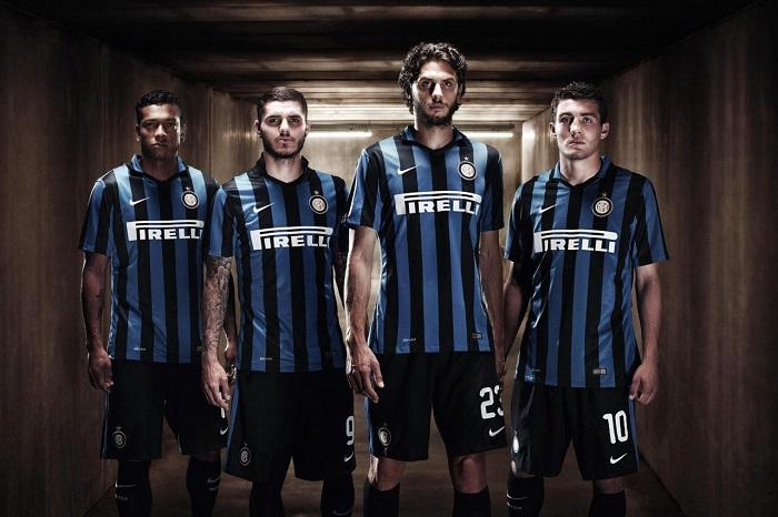 Inter 15/16 home kit