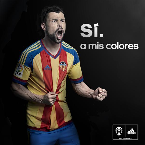 Valencia away jersey 15/16
