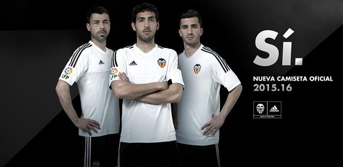 Valencia home jersey 15/16