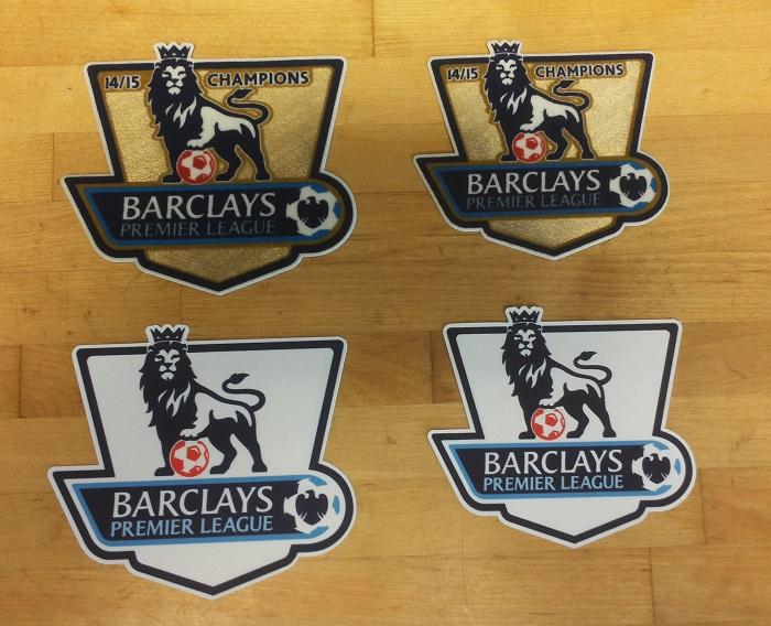 EPL badges 2015 front