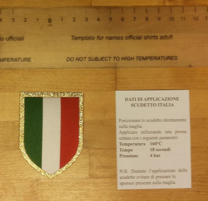 Scudetto badge