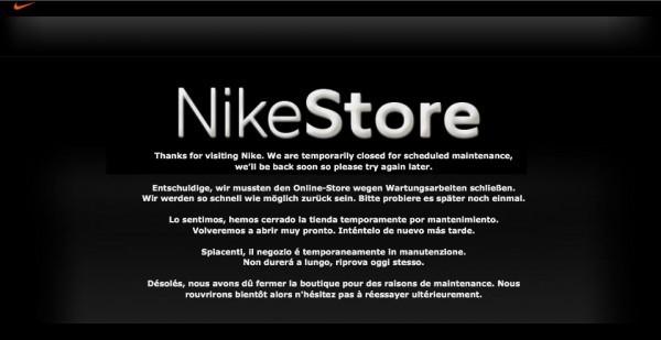 Nike Online store