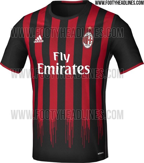 AC Milan home jersey 16/17