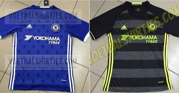 Chelsea home away jersey 16/17