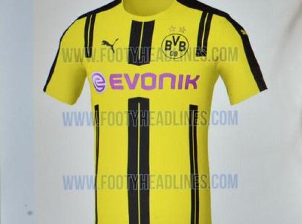 Dortmund home jersey 16/17