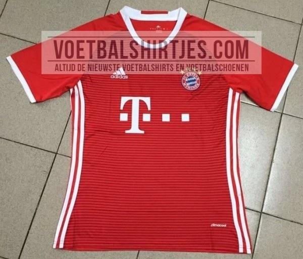 Bayern Munich home jersey 16/17