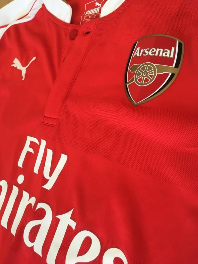 Arsenal home sponsor logo